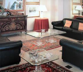Tavolo da salotto in plexiglas Acropoli