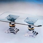 Acrylic Coffee Table 'Olimpus'