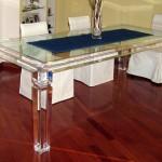 Acrylic Dinner Table 'Afrodite'