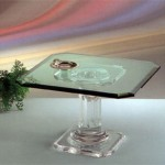 Acrylic Side Table 'Acropoli'