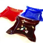 Cast acrylic trays- Mate set - cm25x25