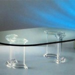 Coffee Table in plexiglass 'Dorico'