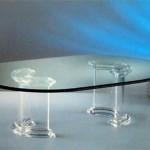 Coffee Table in plexiglass 'Dorico'