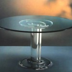 Dinner Table in plexiglass 'Stella'