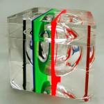 Icepod in acrylic 'Policromo'