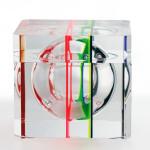Lucite acrylic Icepod 'Policromo'