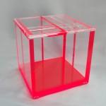 Perspex box 'Groove'