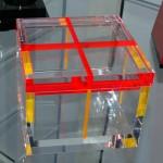 Plexiglass box 'Double'