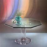 Tavolo da pranzo in plexiglas 'Acropoli'