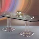 Tavolo da pranzo in plexiglass 'Acropoli'