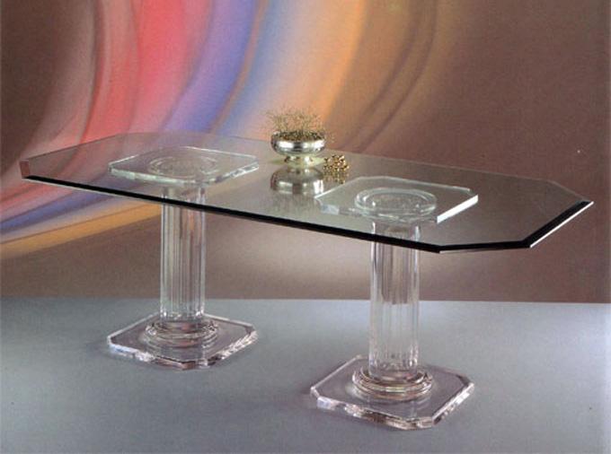 Tavoli da pranzo poliedrica s r l arredamento e - Portafoto da tavolo plexiglass ...
