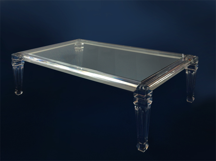 Tavoli da salotto poliedrica s r l arredamento e - Tavolino plexiglass ...