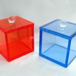 Teche in plexiglass 'Soft'