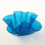 blue lucite bowl