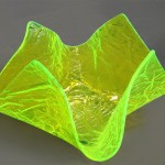 fruit bowl in acrylic plexiglas