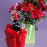 seau a glace and vase in plexiglas
