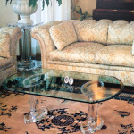 tavolino da salotto in plexiglas 'Stella' cm 120x60h40