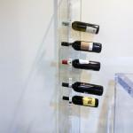 Cantinetta vino in plexiglas cm20x37h150