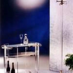 Carrello bar in plexiglass 'Dorico'