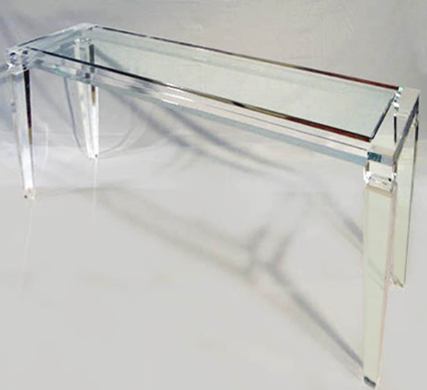 Image Result For Glass Console Table