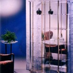Display Cabinet in acrylic 'Dorico'