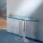 Plexiglas console table 'Stella' cm 120x40h75