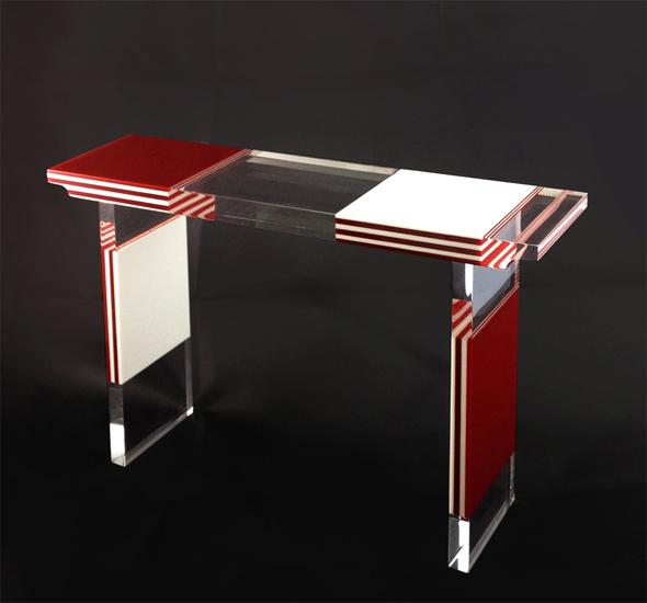 consoles poliedrica s r l arredamento e lavorazione plexiglas pmma. Black Bedroom Furniture Sets. Home Design Ideas