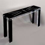 Console in plexiglass 'Butterfly', mm1360x370h810. Design by Donan