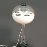 Lampada in plexiglas tartarugato 'Globe' diam cm 35 h 60