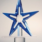 Sculpture in acrylic 'Isteddu'
