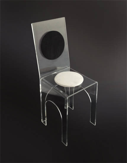 Sedie in plexiglass poliedrica s r l arredamento e for Plexiglass arredamento