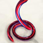 plexiglas multicolor snake