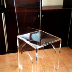 Acrylic chair '3 Archi' S