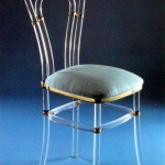 Chair in plexiglas Venezia ve-010