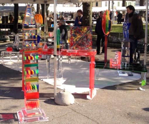 Plexiglas products by Poliedrica a Forte dei Marmi