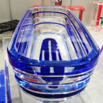 Plexiglass bath tub-Poliedrica- Salone del Mobile-2013.