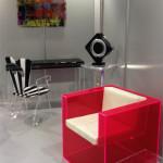 Poliedrica plexiglas design Salone del Mobile 2013