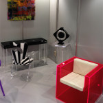Poliedrica plexiglass design Salone del Mobile 2013