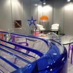 Vasca da bagno in plexiglass Poliedrica i Saloni 2013 partic