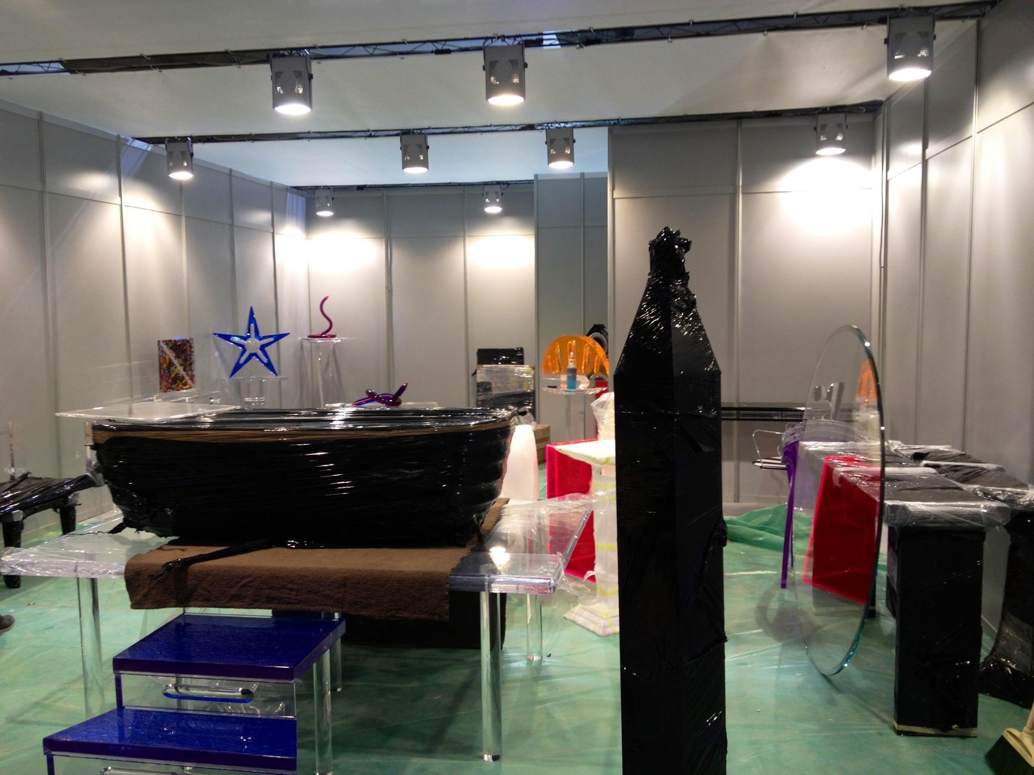 plexiglas furniture Poliedrica s.r.l.  I Saloni 2013