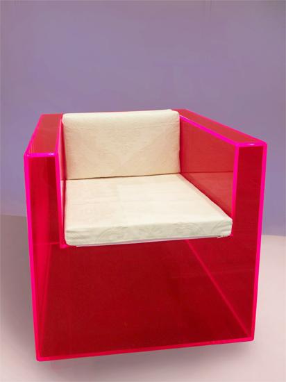 Plexiglas armchair Rphl