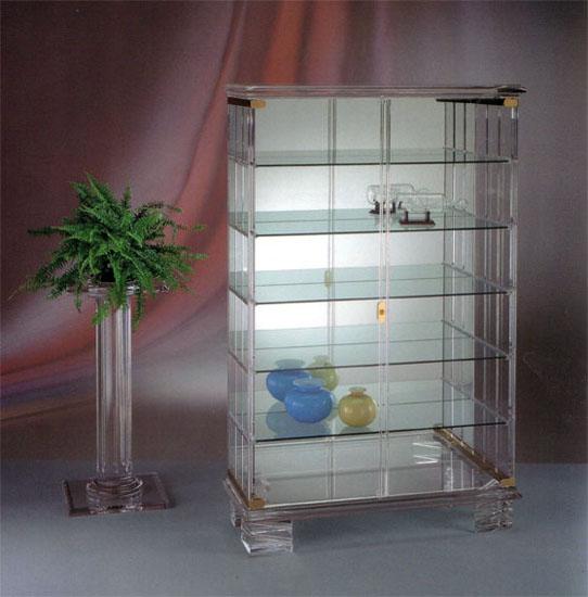 lucite acrylic cabinet 'Petrarca'