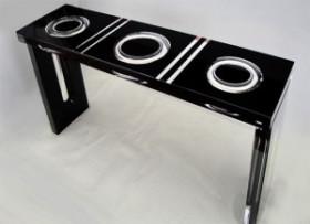 Plexiglas console 'Ring' mm 1300x350h800