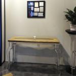 I saloni 2014 Console legno plexiglas