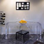 Salone del mobile 2014 arredamento plexiglass