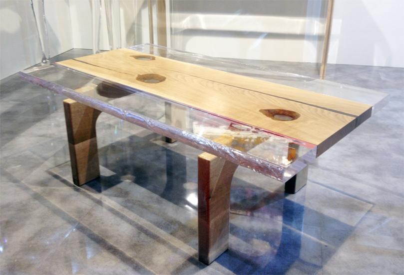 Linea plexilos poliedrica s r l arredamento e lavorazione - Tavolino plexiglass ...