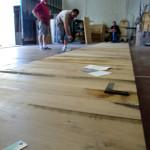 tavolo plexiglas e legno Poliedrica s.r.l.