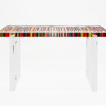 Plexiglas console table by Poliedrica